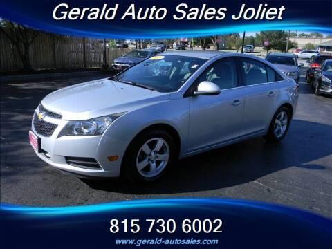 2013 Chevrolet Cruze for sale at Gerald Auto Sales in Joliet IL