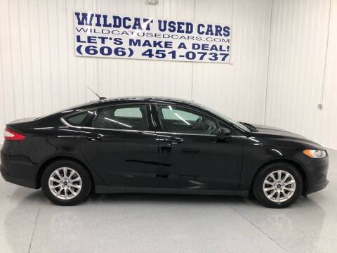 2016 Ford Fusion for sale at Wildcat Used Cars in Somerset KY