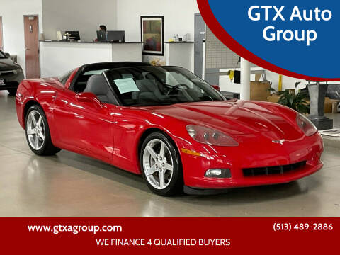 2005 Chevrolet Corvette for sale at GTX Auto Group in West Chester OH