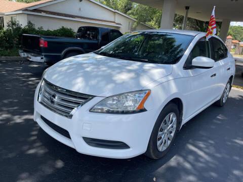 2015 Nissan Sentra for sale at Elite Florida Cars in Tavares FL