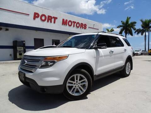 2013 Ford Explorer for sale at Port Motors in West Palm Beach FL
