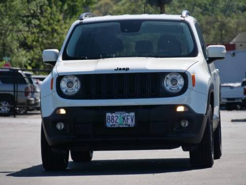2017 Jeep Renegade for sale at CLINT NEWELL USED CARS in Roseburg OR