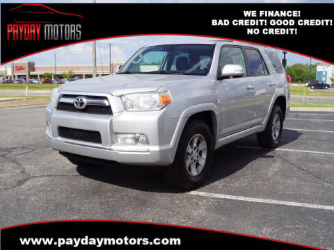 2010 Toyota 4Runner for sale at Payday Motors in Wichita And Topeka KS