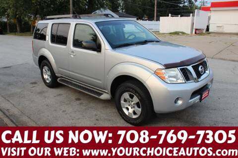 2008 Nissan Pathfinder for sale at Your Choice Autos in Posen IL