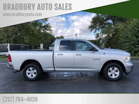 2018 RAM Ram Pickup 1500 for sale at BRADBURY AUTO SALES in Gibson City IL