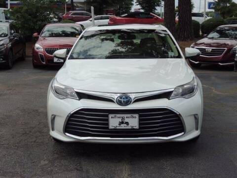 2018 Toyota Avalon Hybrid for sale at Auto Finance of Raleigh in Raleigh NC
