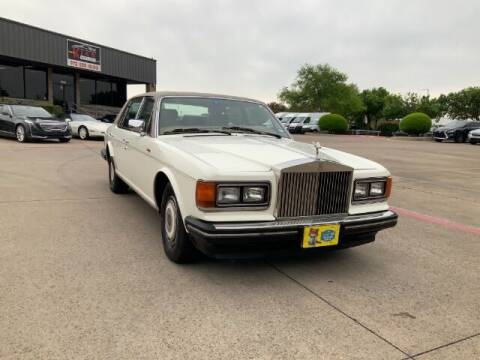 1989 Rolls-Royce Silver Spur for sale at KIAN MOTORS INC in Plano TX