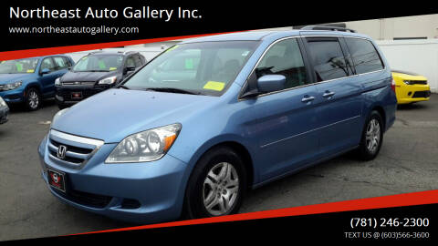 2005 Honda Odyssey for sale at Northeast Auto Gallery Inc. in Wakefield Ma MA