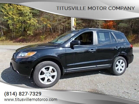 2009 Hyundai Santa Fe for sale at Titusville Motor Company in Titusville PA