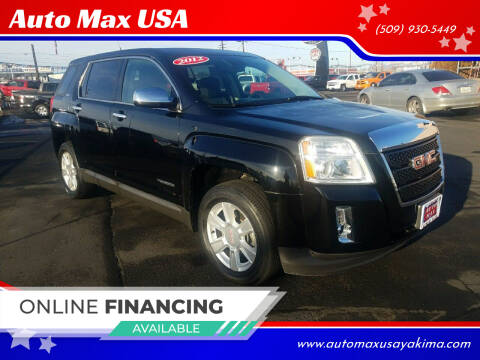 2012 GMC Terrain for sale at Auto Max USA in Yakima WA