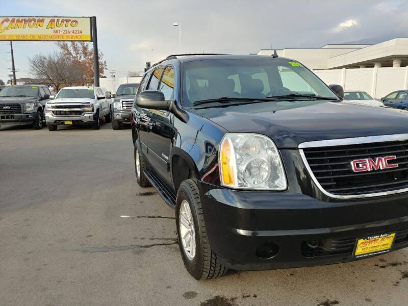2011 GMC Yukon for sale at Canyon Auto Sales in Orem UT
