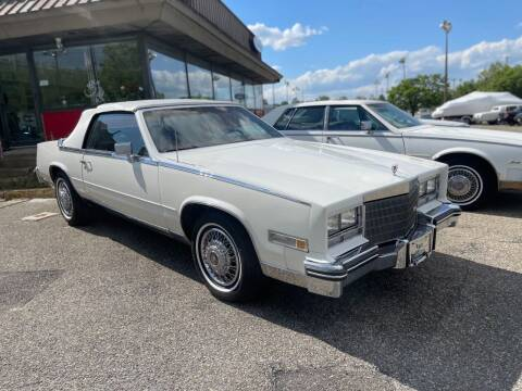 1984 Cadillac Eldorado for sale at Black Tie Classics in Stratford NJ