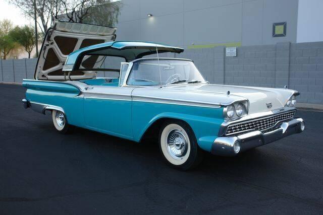 1959 Ford Fairlane for sale at Arizona Classic Car Sales in Phoenix AZ