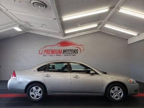 2008 Chevrolet Impala for sale at Premium Motors in Villa Park IL