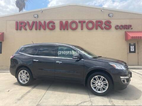 2015 Chevrolet Traverse for sale at Irving Motors Corp in San Antonio TX
