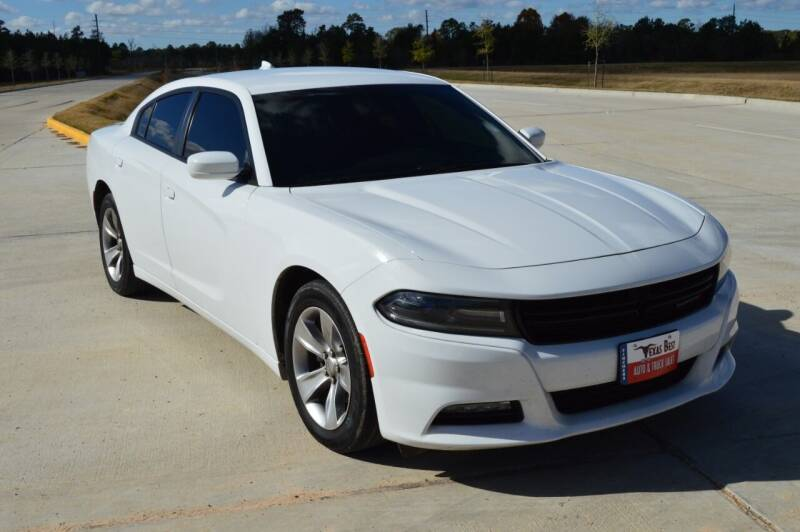 2016 Dodge Charger for sale at Fincher's Texas Best Auto & Truck Sales in Tomball TX