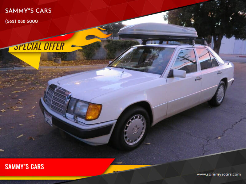 """1992 Mercedes-Benz 300-Class for sale at SAMMY""""S CARS in Bellflower CA"""