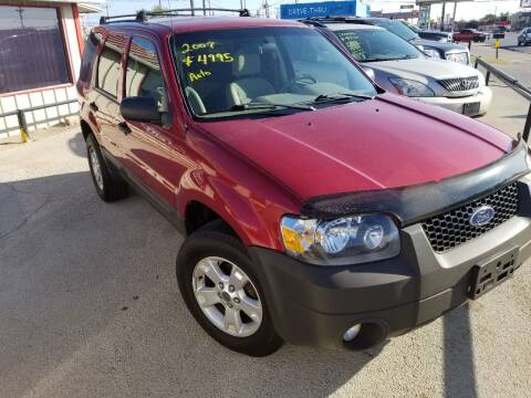 2007 Ford Escape for sale at Key City Motors in Abilene TX