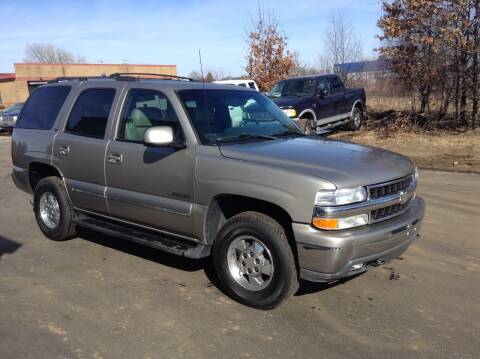 2002 Chevrolet Tahoe for sale at Bruns & Sons Auto in Plover WI