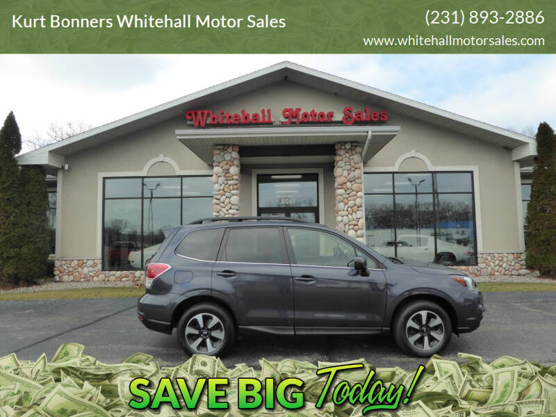 2017 Subaru Forester for sale at Kurt Bonners Whitehall Motor Sales in Whitehall MI