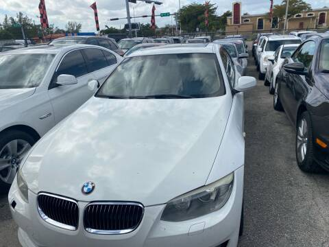 2011 BMW 3 Series for sale at America Auto Wholesale Inc in Miami FL