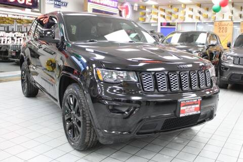 2018 Jeep Grand Cherokee for sale at Windy City Motors in Chicago IL