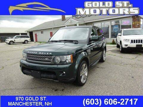 2011 Land Rover Range Rover Sport for sale at Gold St. Motors in Manchester NH