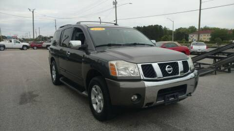 2004 Nissan Armada for sale at Kelly & Kelly Supermarket of Cars in Fayetteville NC
