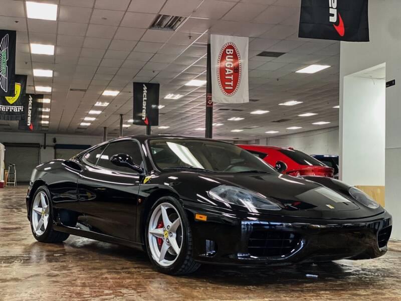 2001 Ferrari 360 Modena for sale at FALCON MOTOR GROUP in Orlando FL