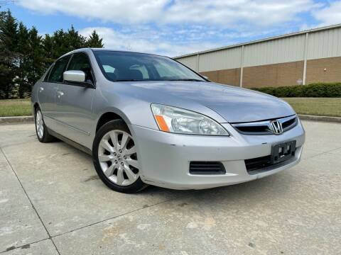 2007 Honda Accord for sale at el camino auto sales in Gainesville GA
