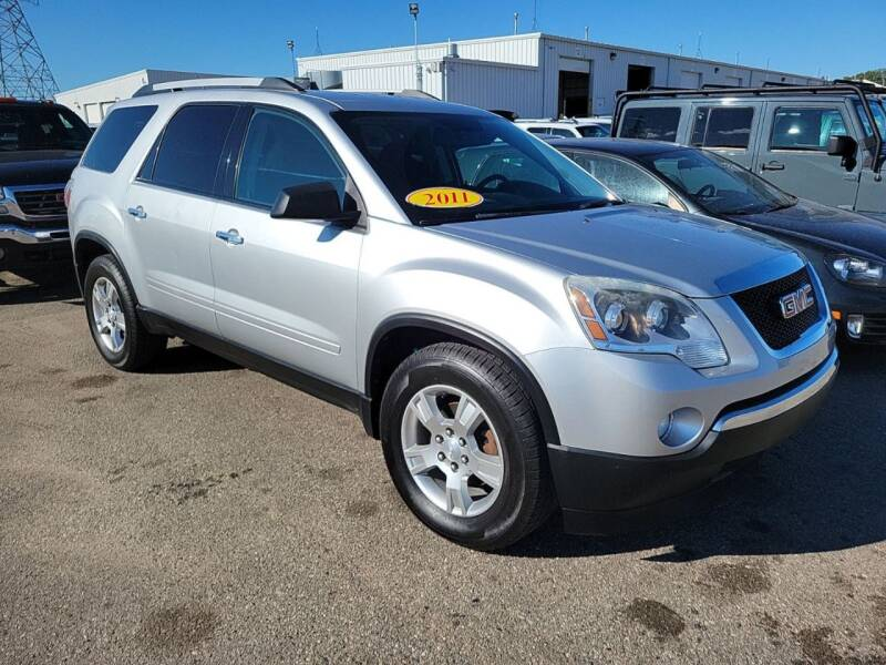 2011 GMC Acadia for sale at Simmons off road sales LLC in Saint Johns MI
