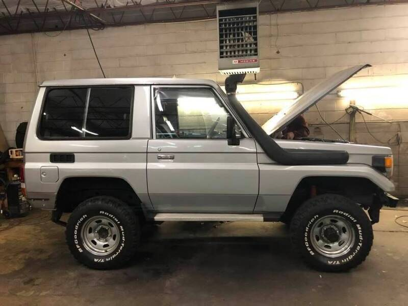 1992 Toyota Land Cruiser for sale at CR Garland Auto Sales in Fredericksburg VA