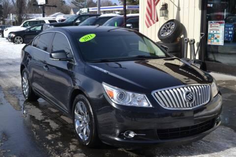 2011 Buick LaCrosse for sale at Nick's Motor Sales LLC in Kalkaska MI