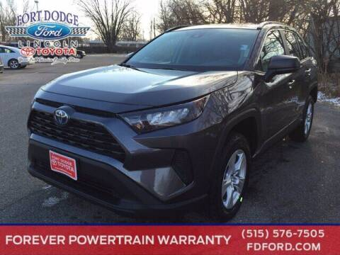 2021 Toyota RAV4 Hybrid for sale at Fort Dodge Ford Lincoln Toyota in Fort Dodge IA