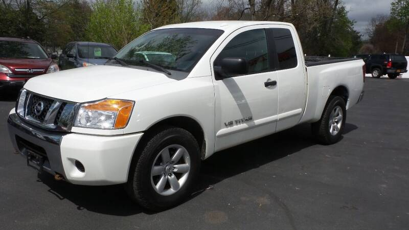 2008 Nissan Titan for sale at JBR Auto Sales in Albany NY