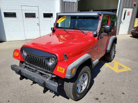 2004 Jeep Wrangler for sale at MX Motors LLC in Ashland MA