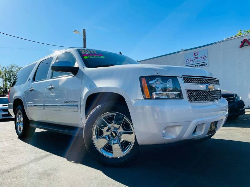 2010 Chevrolet Suburban for sale at Alpha AutoSports in Roseville CA