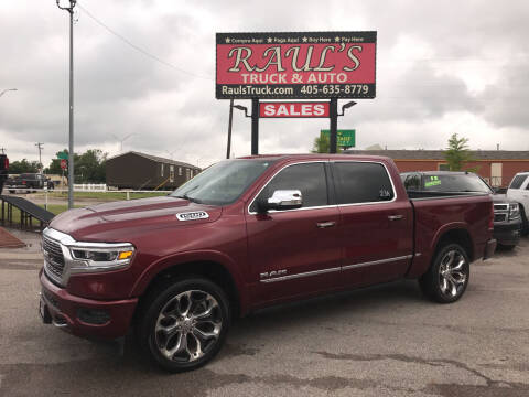 2019 RAM Ram Pickup 1500 for sale at RAUL'S TRUCK & AUTO SALES, INC in Oklahoma City OK