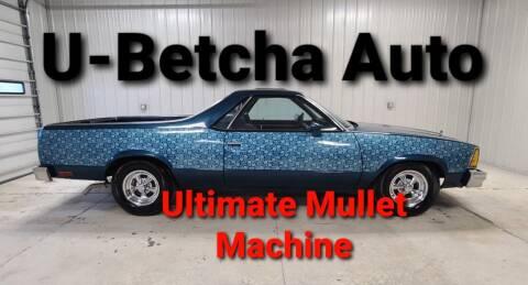 1980 Chevrolet El Camino for sale at Ubetcha Auto in Saint Paul NE