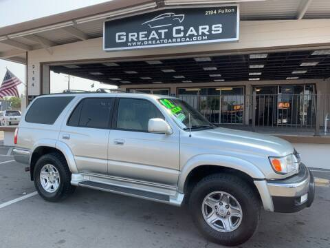 2002 Toyota 4Runner for sale at Great Cars in Sacramento CA