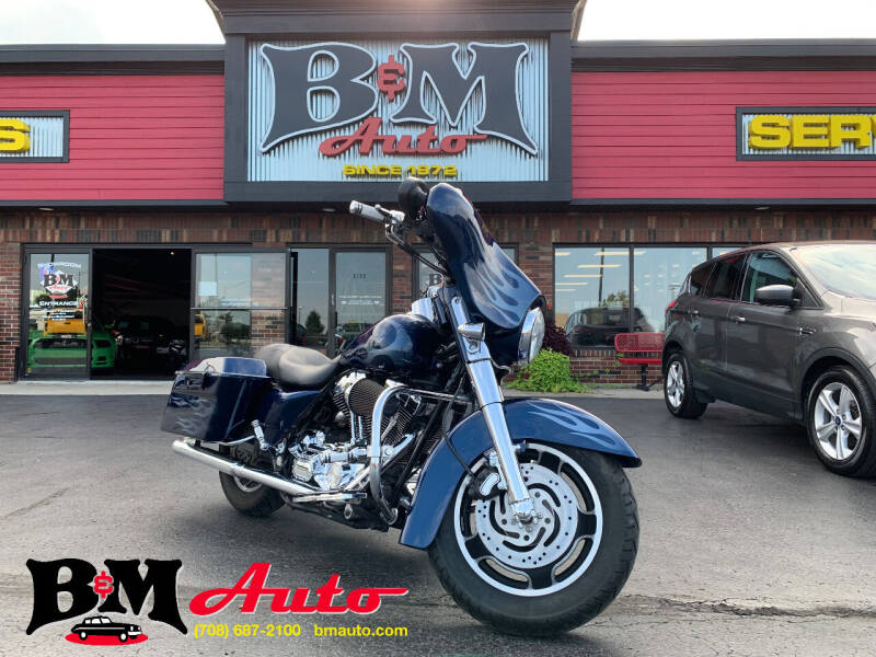 2006 Harley-Davidson Street Glide for sale at B & M Auto Sales Inc. in Oak Forest IL