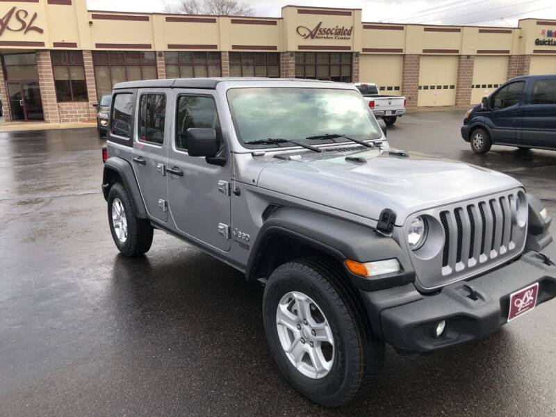 2019 Jeep Wrangler Unlimited for sale at ASSOCIATED SALES & LEASING in Marshfield WI