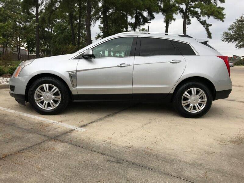 2013 Cadillac SRX for sale at ALL AMERICAN FINANCE AND AUTO in Houston TX
