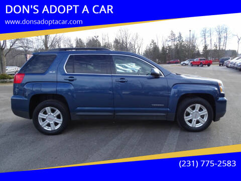 2016 GMC Terrain for sale at DON'S ADOPT A CAR in Cadillac MI