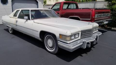 1976 Cadillac Coupe Deville for sale at Advantage Auto Sales & Imports Inc in Loves Park IL