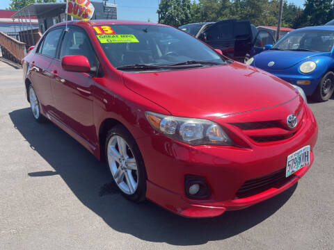 2013 Toyota Corolla for sale at Low Price Auto and Truck Sales, LLC in Brooks OR