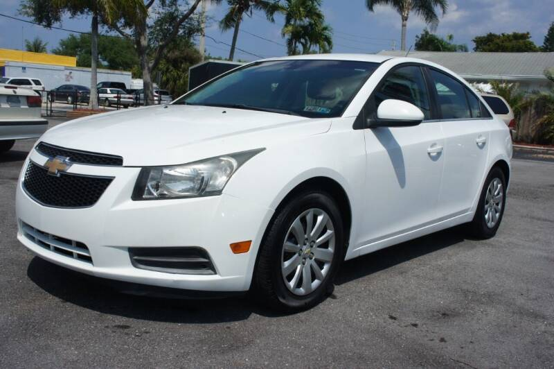 2011 Chevrolet Cruze for sale at American Classics Autotrader LLC in Pompano Beach FL