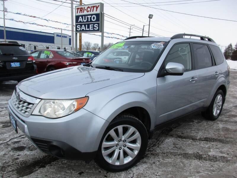 2012 Subaru Forester for sale at TRI CITY AUTO SALES LLC in Menasha WI