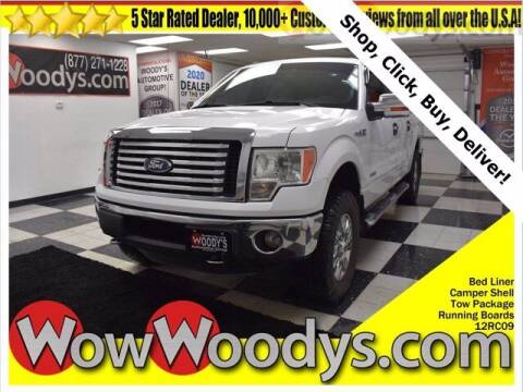 2012 Ford F-150 for sale at WOODY'S AUTOMOTIVE GROUP in Chillicothe MO