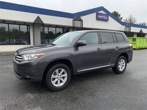 2012 Toyota Highlander for sale at Impex Auto Sales in Greensboro NC